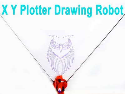Make Arduino XY Plotter Drawing Robot Polargraph