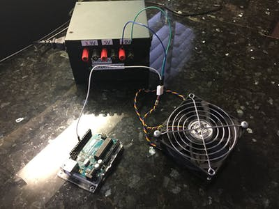 25 kHz 4 Pin PWM Fan Control with Arduino Uno