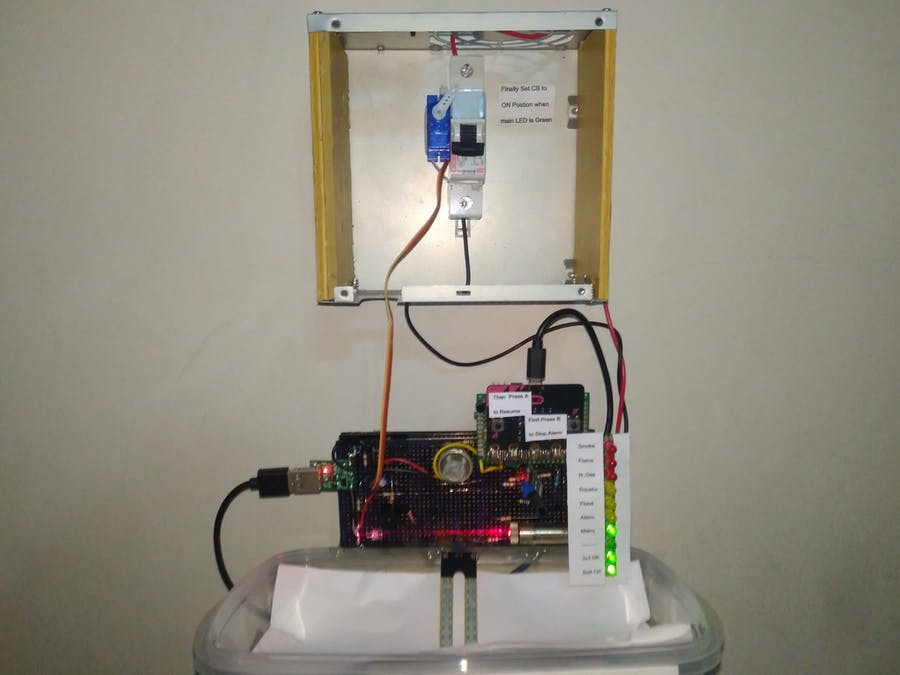 Disaster Management with Smart Circuit Breaker