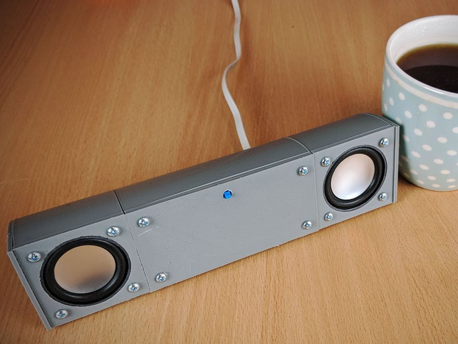 A Modular, USB Powered, Bluetooth Speaker System