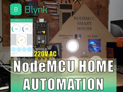 NodeMCU Home Automation (ESP8266)