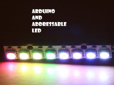 Arduino and Addressable LED