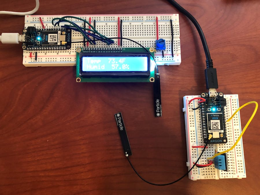 IOT Project: Temperature and Humidity Sensing