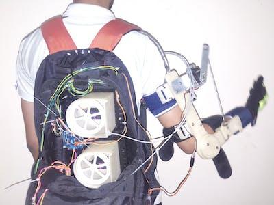 Exoskeleton for Paralytic Arm