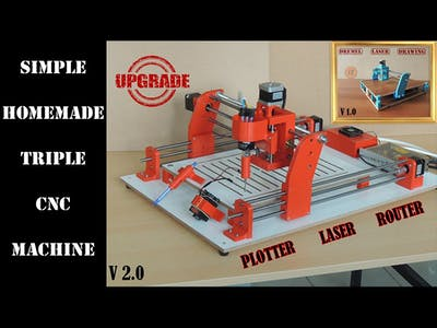 Triple CNC Machine - UPGRADE Version