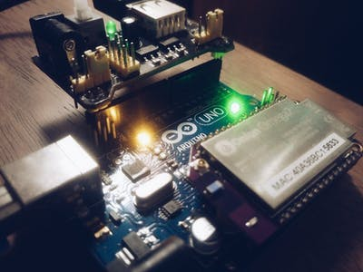 Interfacing Arduino Uno & Onion Omega 2