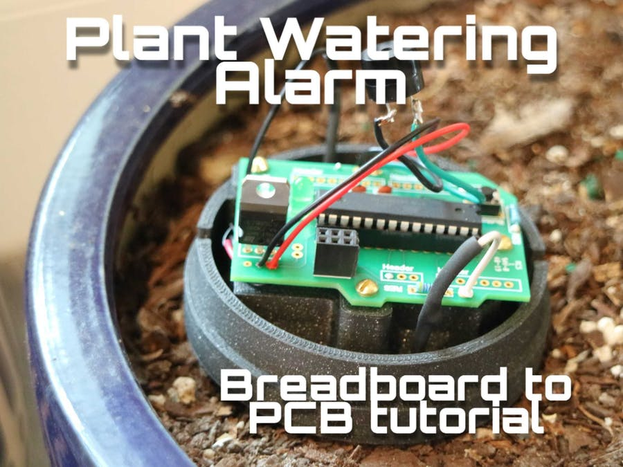 Thirst Alert Plant Alarm