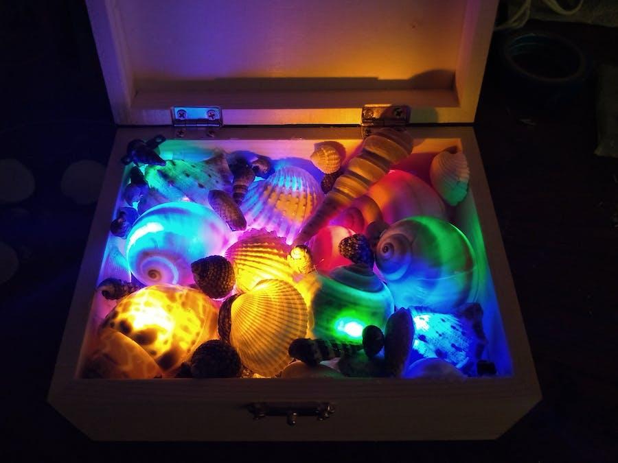 Arduino Sea Shells Light/Music Box