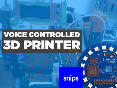 Voice Controlled 3D Printer