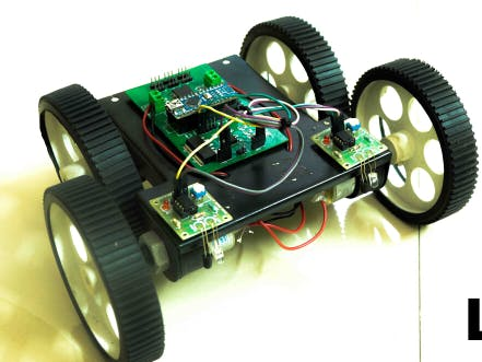 Simple Line Follower Robot with PCB Design