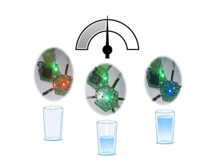 Hexabitz Water Level Indicator