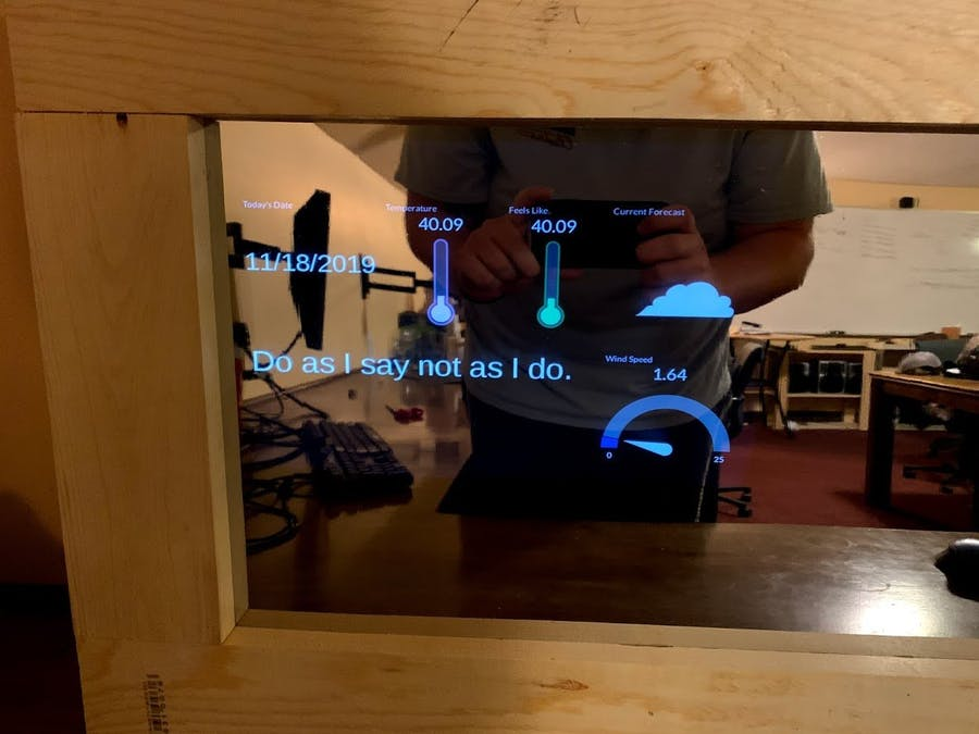 Smart Mirror Using BeagleBone Black