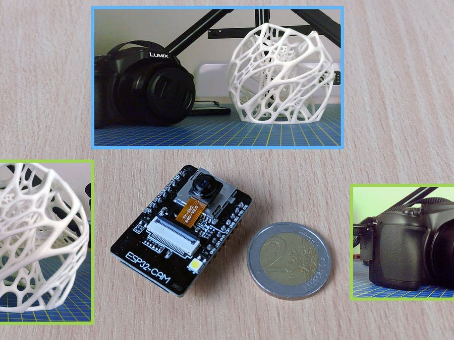 Digital Still Image Camera Using the ESP32-CAM Board