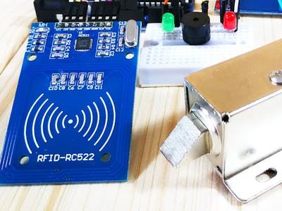 Solenoid Door Lock Contol RFID