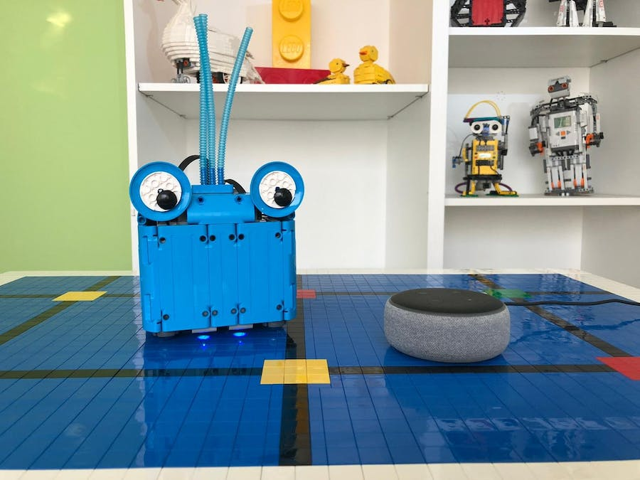 Color Game: Help Alexa the Lego Robot Find the Correct Color