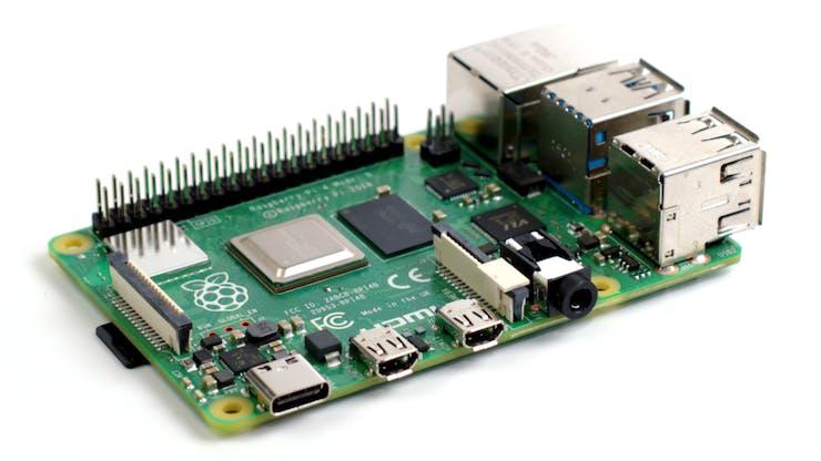 The Raspberry Pi 4 Model B. (📷: Gareth Halfacree)