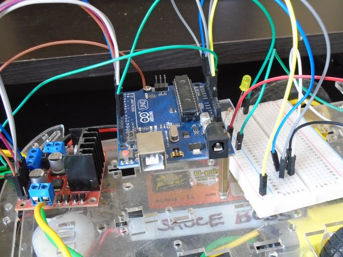 use a breadboard , it's very convenient