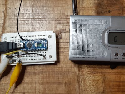 (Ab)use an Arduino as AM Music Transmitter!