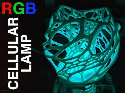 WiFi RGB Cellular Lamp Using the ESP8266