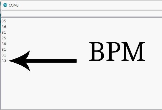 Arduino Serial BPM