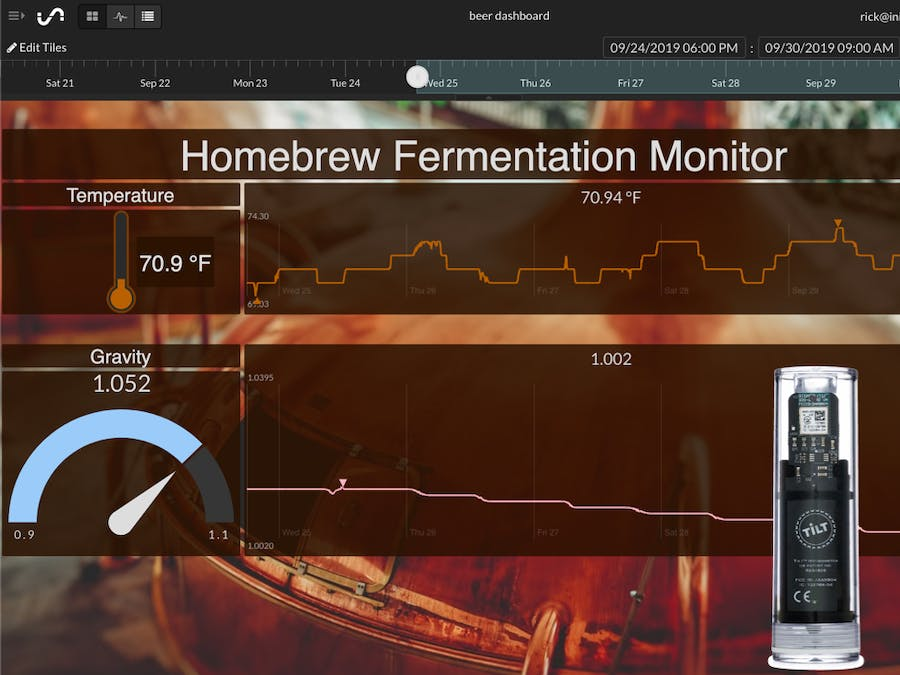 Beer Brew with Cloud Monitoring: Tilt + Pi + Initial State