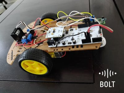 Robotic Car Controlled Over Web