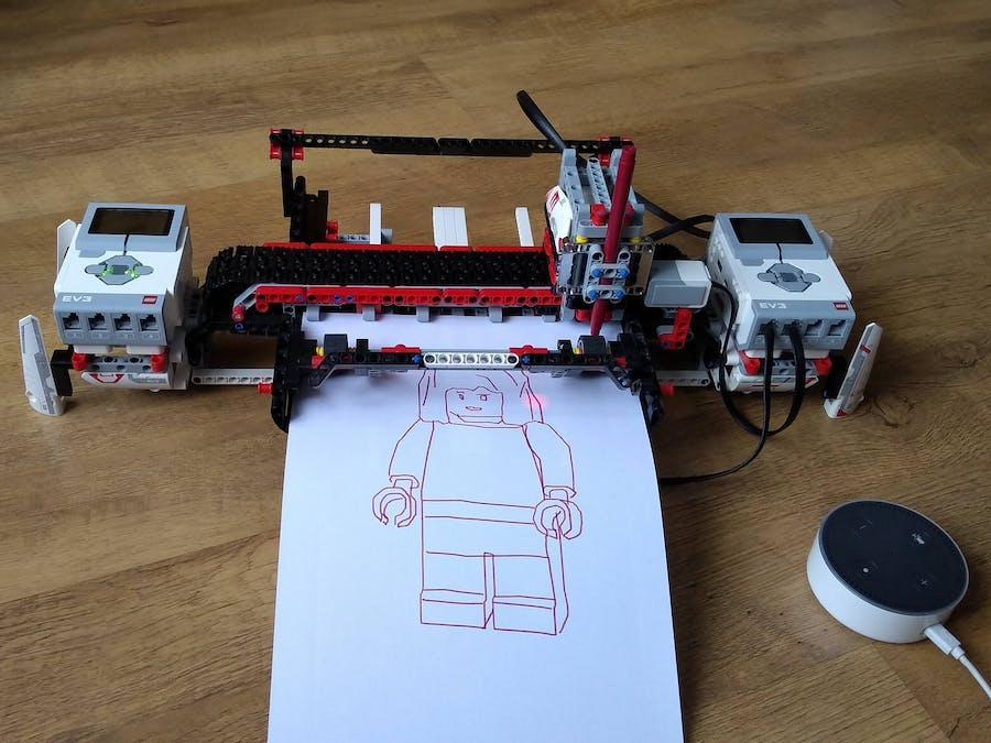 Al3xa LEGO Plott3r