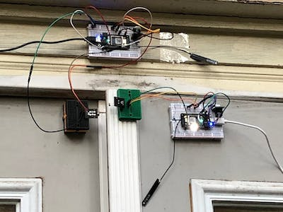 IOT Home Security System with Particle Argon