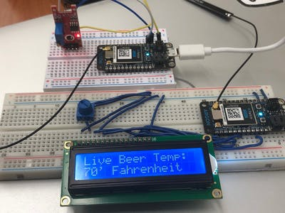 MEGR 3171 IOT Group Project 042 Live Beer Temperature Sensor