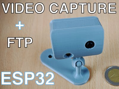 Video Capture Using the ESP32-CAM Board