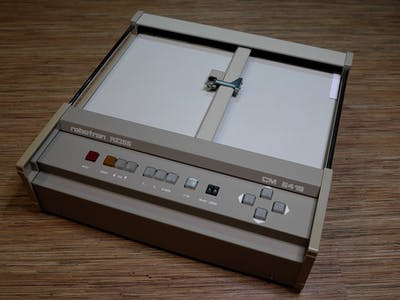 1998' Robotron Plotter Renovation