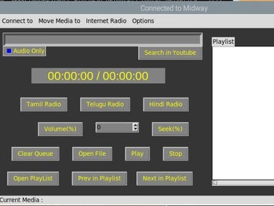 GUI Remote Control for VLC - Telnet Interface - Updated