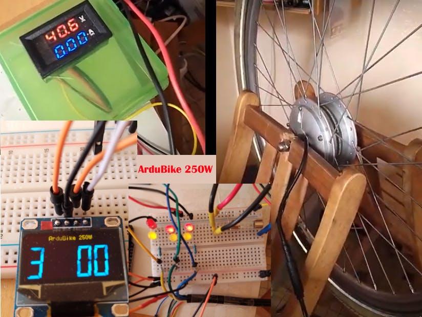 ArduBike 250W, an Arduino-Based E-Bike Controller
