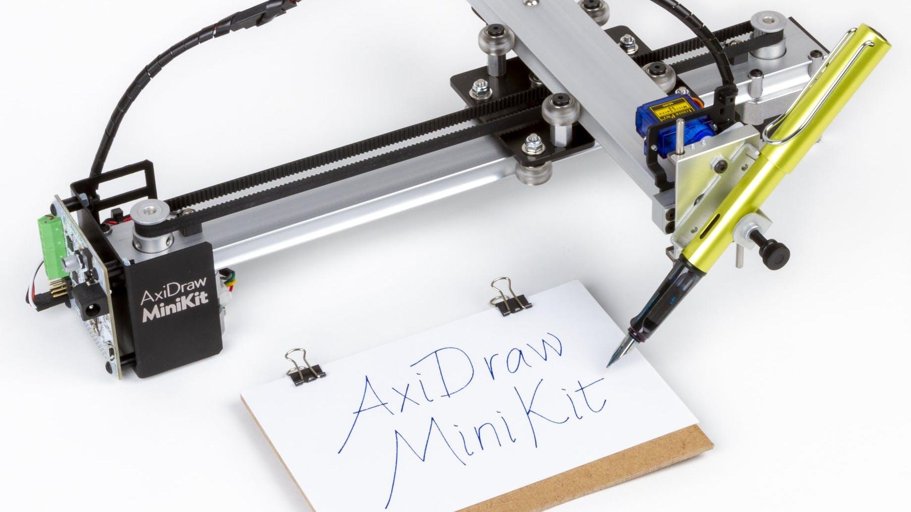 AxiDraw Mini Kit Plots in a 6x4