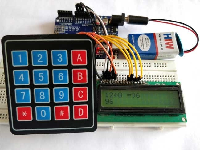 Arduino Calculator