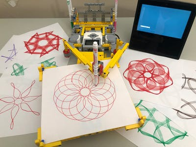 Voice Activated Spirograph