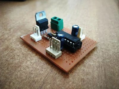 Power Efficient Motor Driver