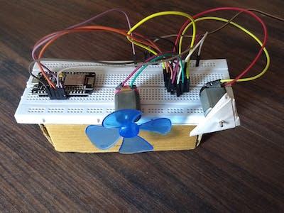 Motor Control Using NodeMCU