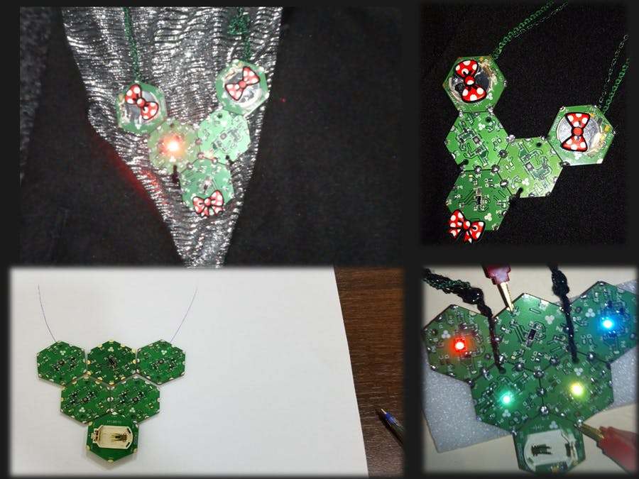 Hexabitz Glowing Necklace