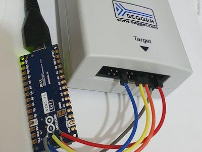 Arduino Nano 33 IoT Debugging