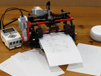 EV3 Print Bot