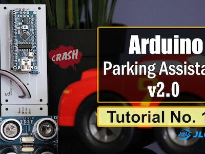 Arduino Based Parking Assistant V2