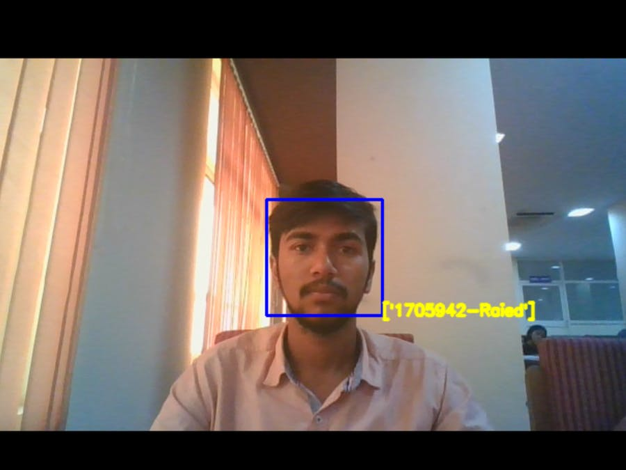 Attendance System | Facial Recognition | OPEN-CV | ML