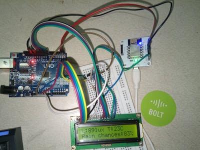 IoT Based Sensor & Climate Monitoring Using BoltIoT Platform