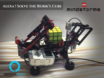 Alexa Solve Rubik Cube
