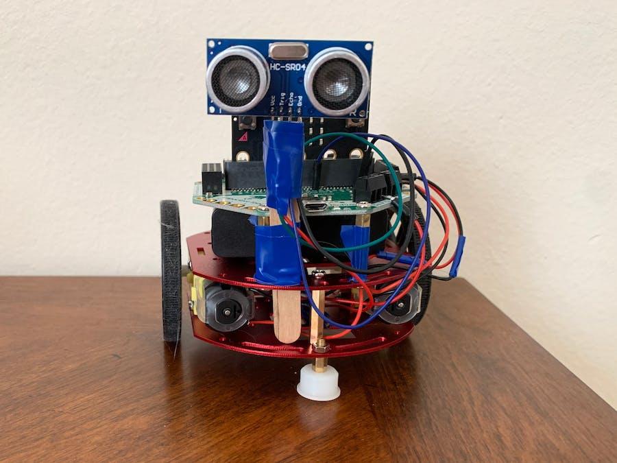 Obstacle Avoiding & Interactive Robot