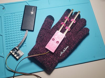 A Smart Glove Computer Mouse