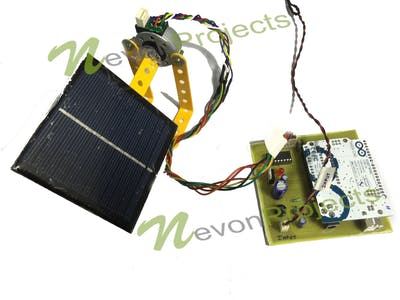 Arduino Solar Tracker Servo-Controlled, Light-Tracking