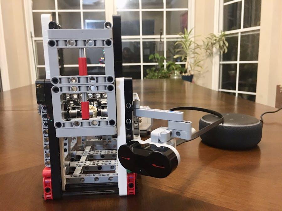 Alexa controlled Garage Door with Mindstorm Ev3