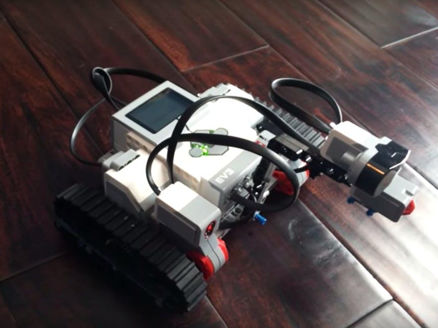 A EV3 Robot rover controlled by Amazon Alexa
